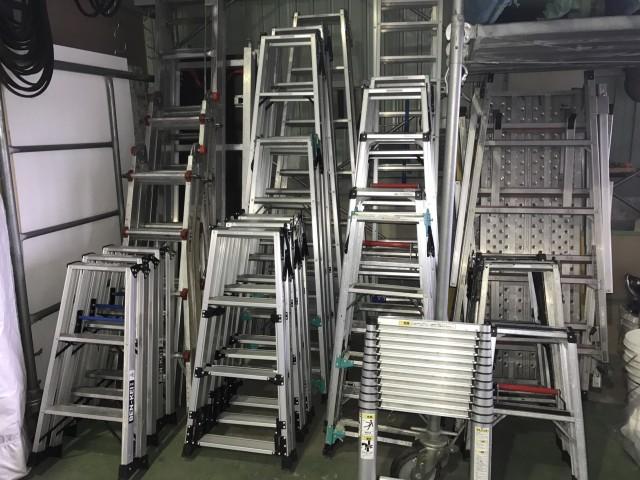 倉庫 環境整備&資機材ご紹介