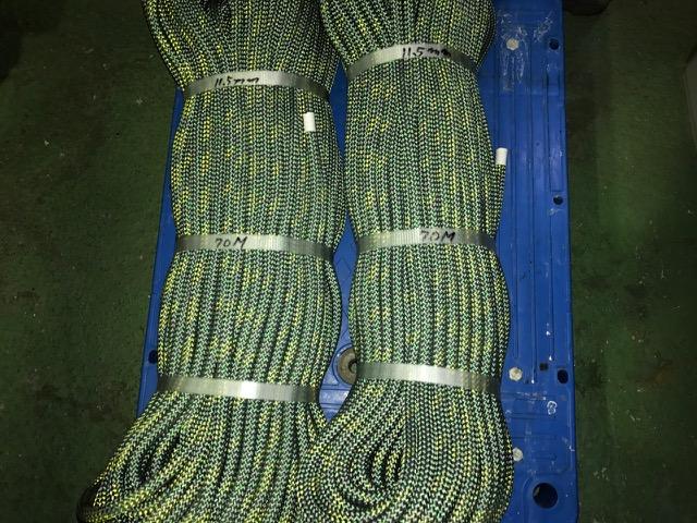 鳥害対策工事で使うロープを新調しました。